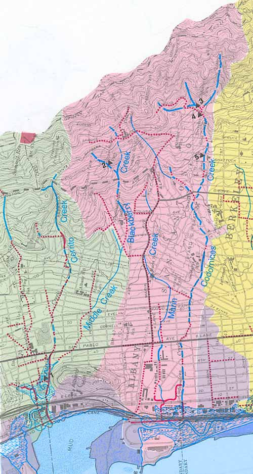 Historic Creek Maps